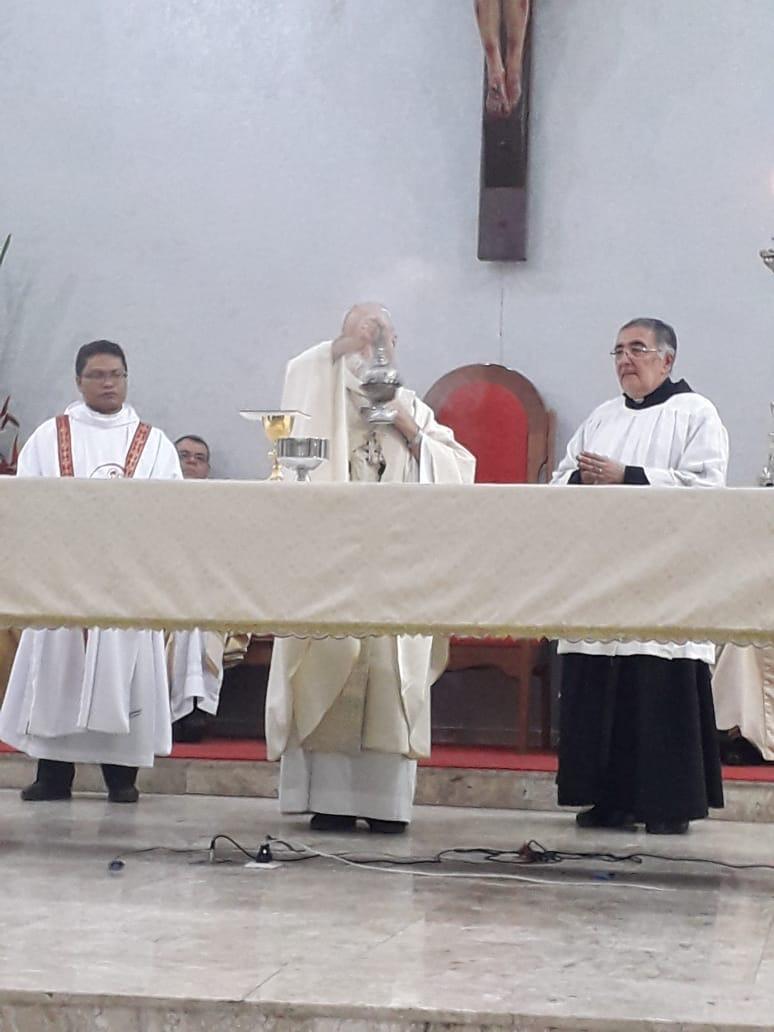 Profissão Solene e Ordenações Diaconais no mês de Outubro.