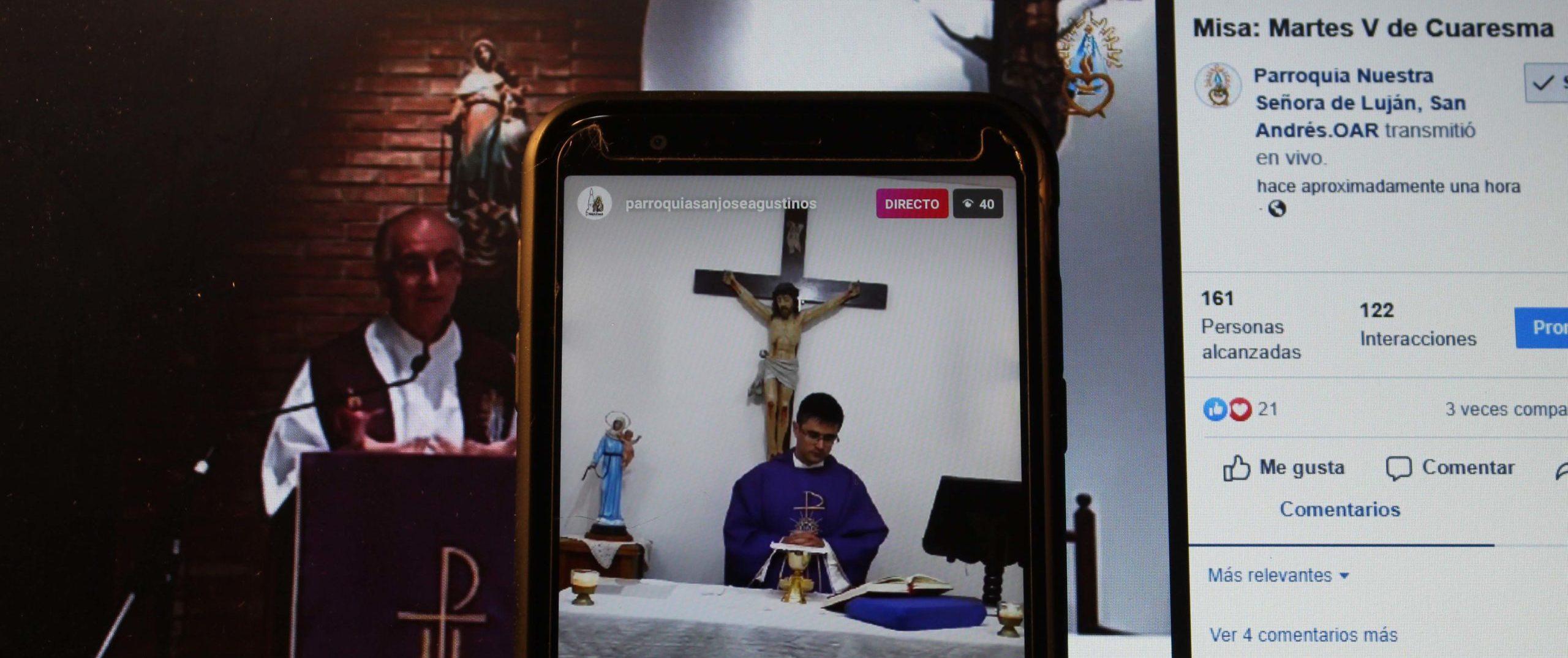 Transmisión de la Celebración de la Eucaristía